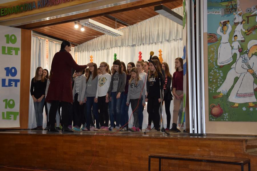 Otvoritev 10. Mednarodne kiparske kolonije mladih Črnomelj