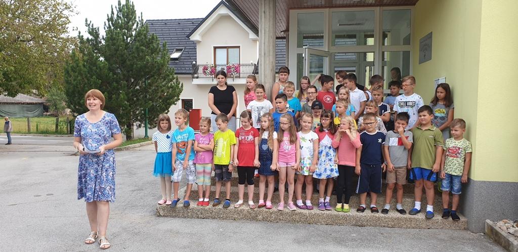 Prvi šolski dan na Podružnici Adlešiče