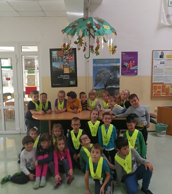 eTwinning – Decorate an umbrella in autumn colours