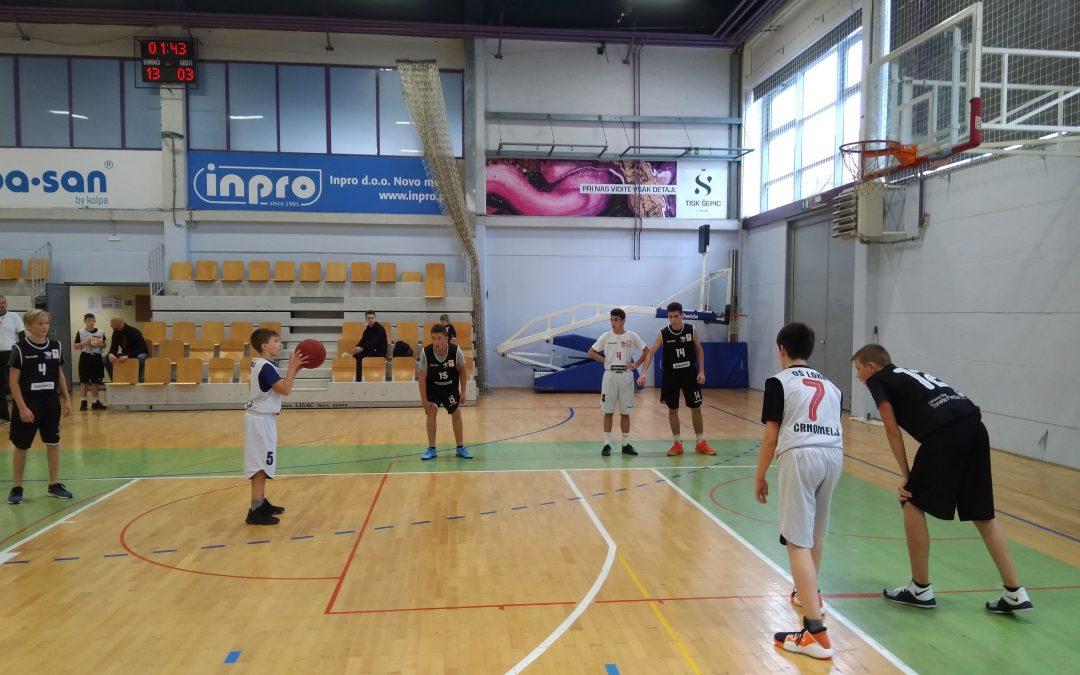 Področno tekmovanje v košarki za starejše dečke