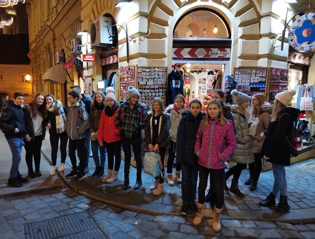 Ekskurzija likovnikov v Zagreb