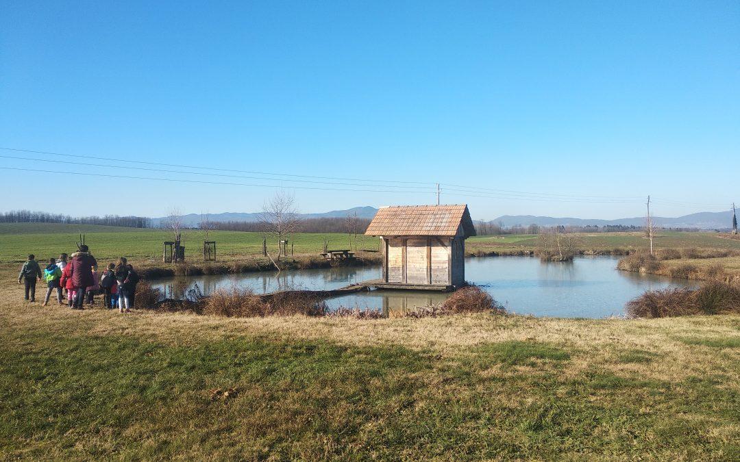 Sprehod do ribnika – PŠ Griblje