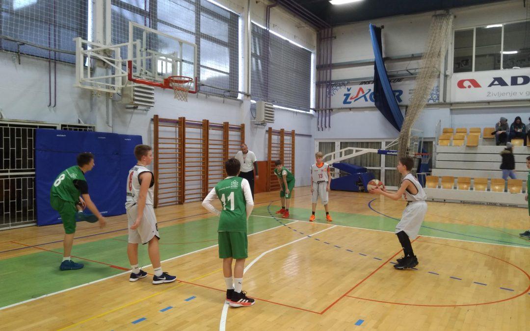 Področno prvenstvo v košarki za mlajše dečke