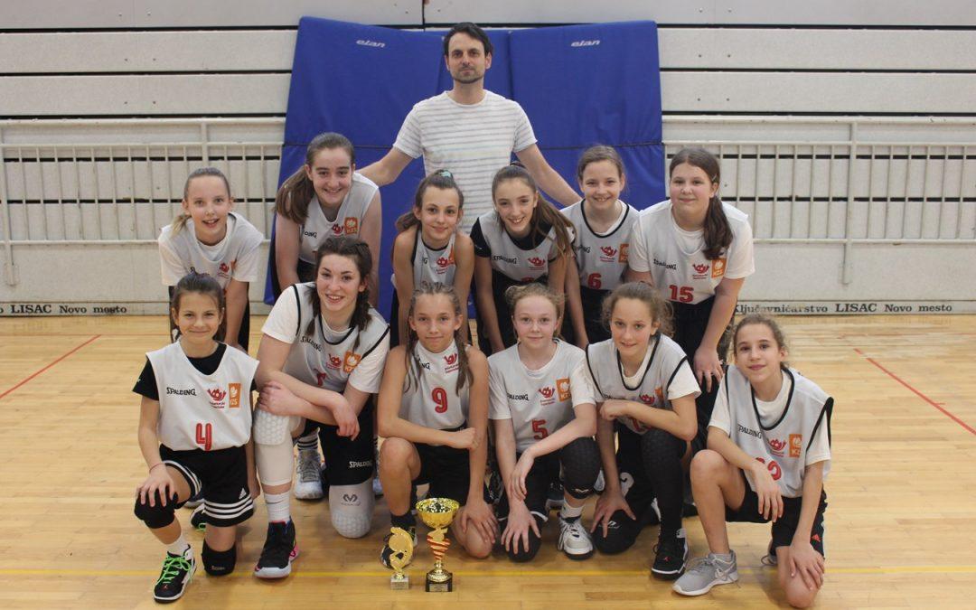 Področno prvenstvo v košarki za mlajše deklice