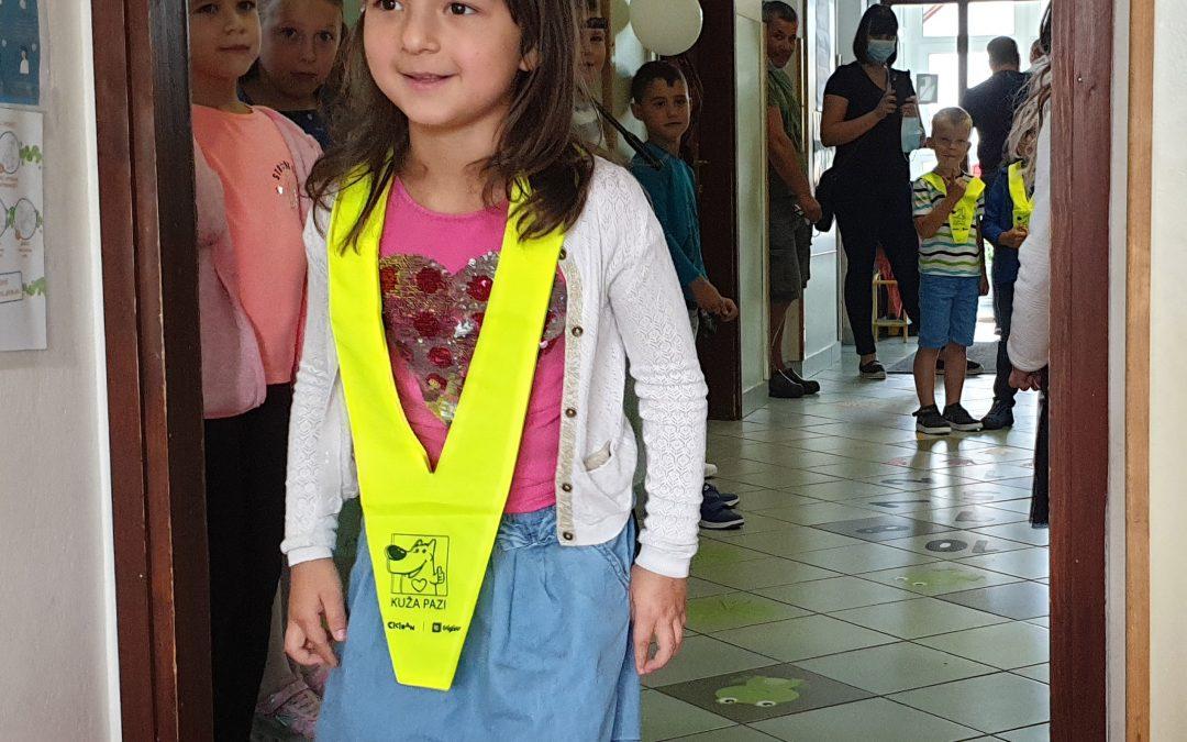 Prvi šolski dan na podružnici Adlešiči