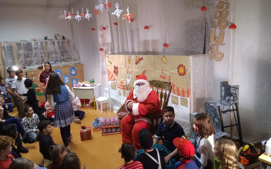 Božiček na PŠ Griblje