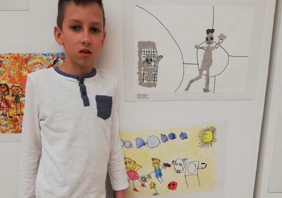 Bodi umetnik – 13. Mednarodni likovni natečaj »Igraj se z mano«
