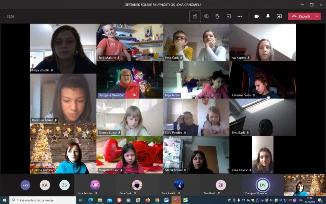 Sestanek šolske skupnosti OŠ Loka Črnomelj