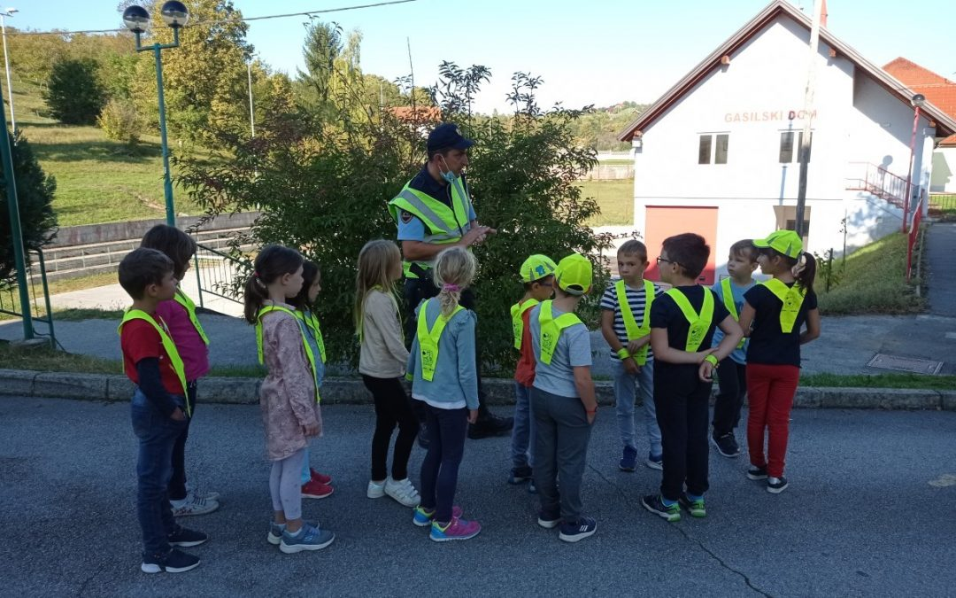 Tehniški dan Promet na Podružnični šoli Adlešiči